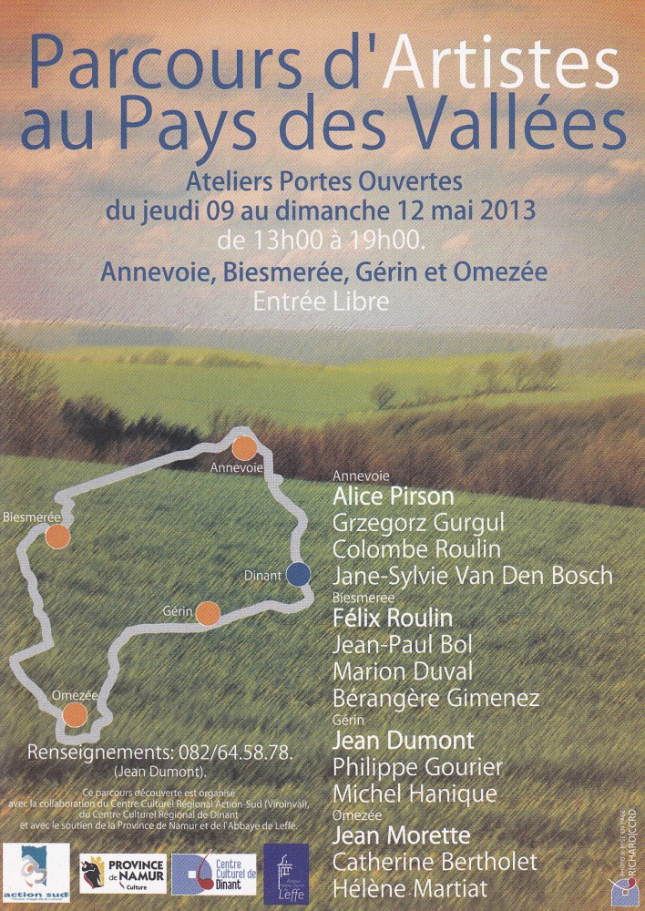 2013 - Parcours d'Artistes Gérin - 01